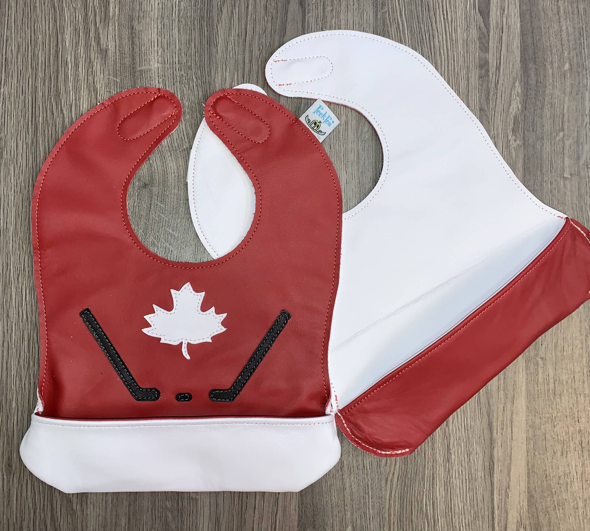 Toddler Canada Hockey Bib