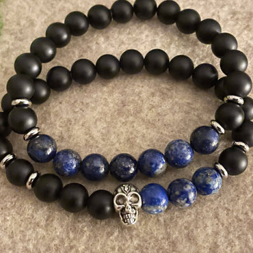 """Strength & Serenity"" Stretch Bracelet Set"