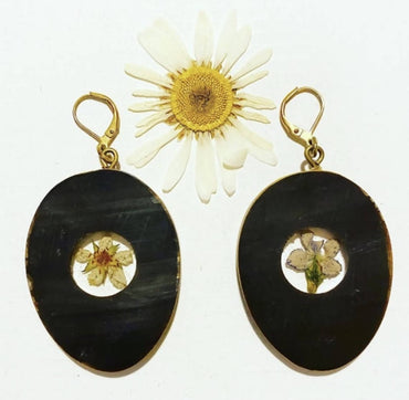 Upcycled Wildflower Earrings