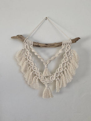 Macramé Layered Necklace Wall Hanging