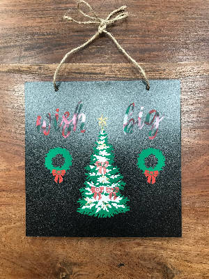 Double Sided Fall and Christmas