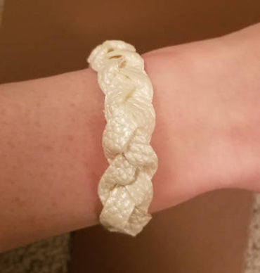 Faux-Leather Bracelet