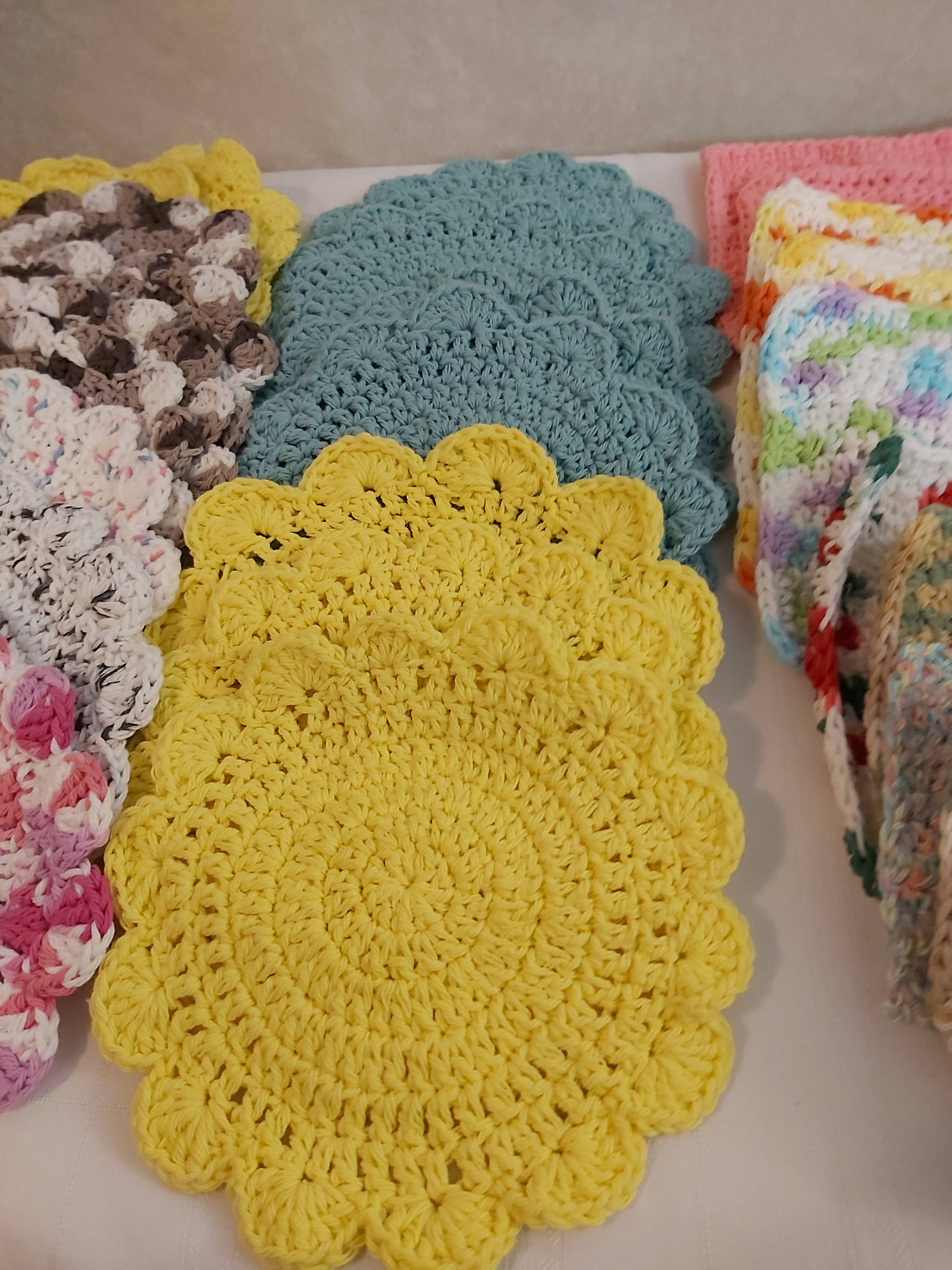 Daisy Dish Cloths