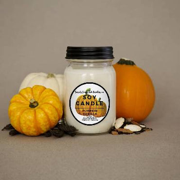 Pumpkin Vanilla Candle 14oz