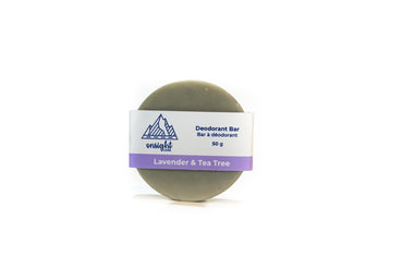 The Lavender & Tea Tree Deodorant Bar