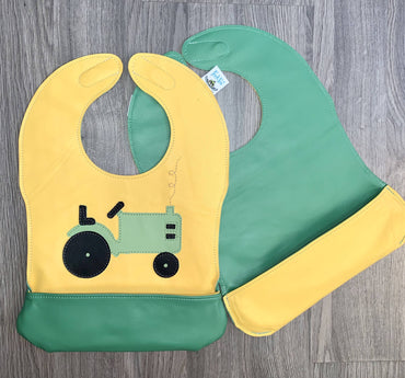 Toddler Tractor Bib