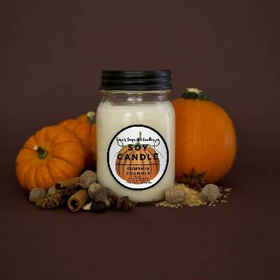 Pumpkin Crumble Candle - 14oz