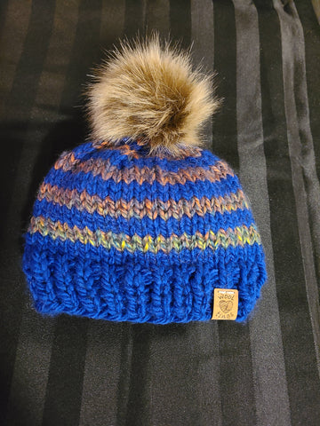 Knitted Toddler Toque
