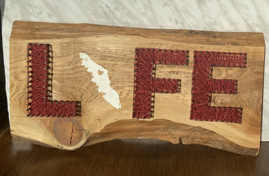 Vancouver Island Life String Art