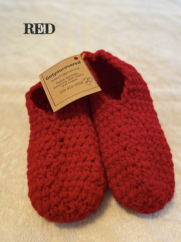 Crochet Granny Slippers