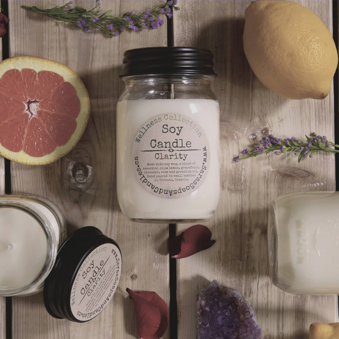 Clarity Soy Candle - 14oz