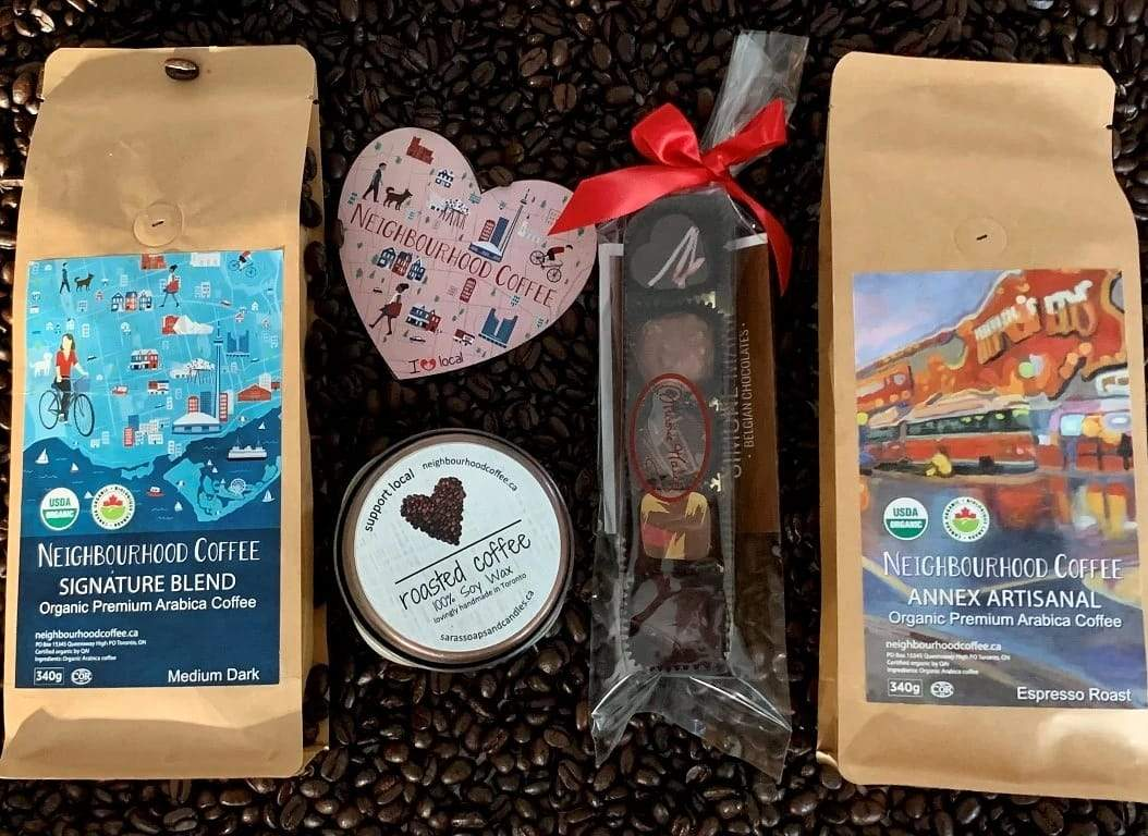 VALENTINE GIFT PACK: The greatest things start with C: Coffee, Candle & Chocolate