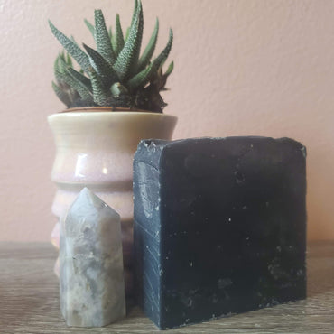 Charcoal Rosemary Sage Bar Soap