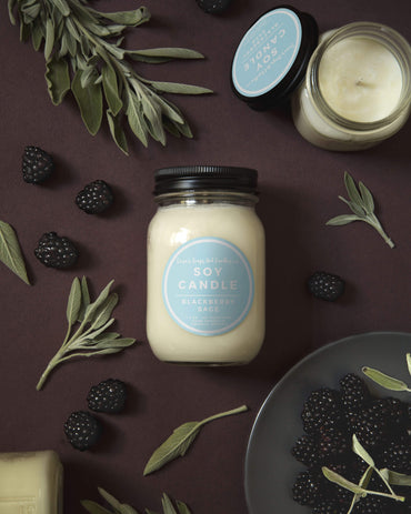 Blackberry Sage Candle - 14oz