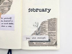 Vintage self love monthly Journal Kit