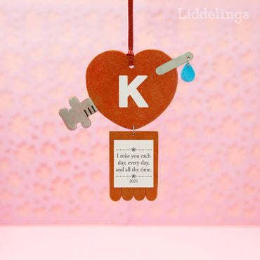 Personalized Covid Vaccine Valentine Ornament 2021, Essential Workers Gift, Coronavirus Souvenir