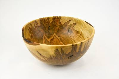 bowl, wood bowl, kitchen bowl, candy bowl, nut bowl, fruit bowl, salad bowl, Ambrosia maple bowl, tp208