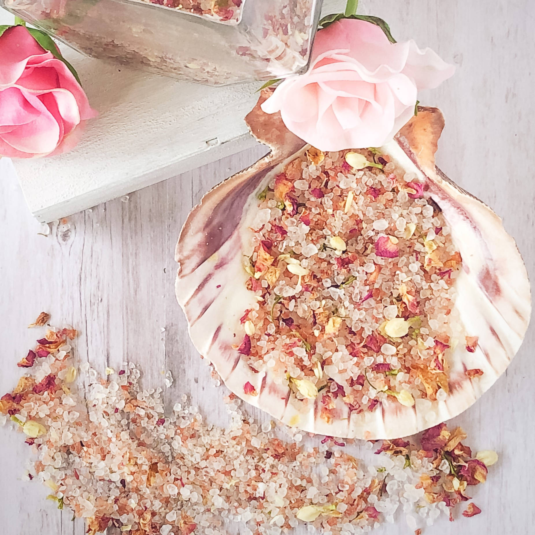 Wild Rose & Honey Bath Salts