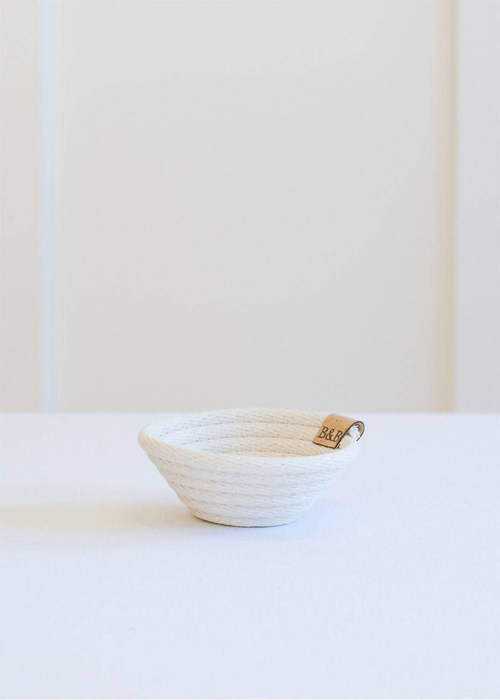 The Mini - Handcrafted Mini Cotton Cord Trinket Bowl