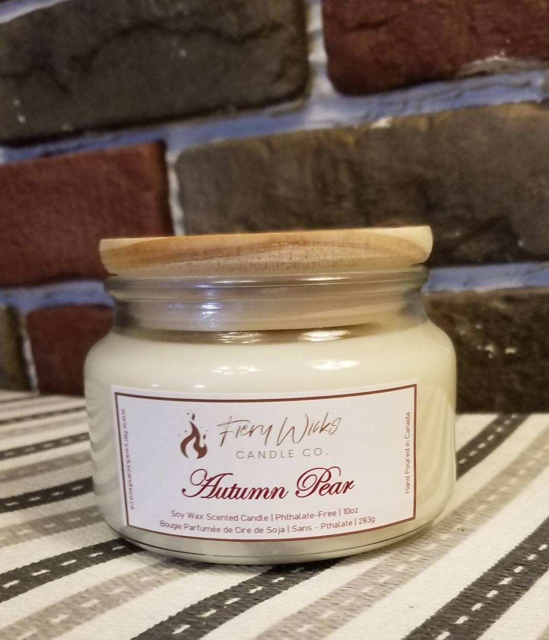 Scented Soy Candle - Autumn Pear