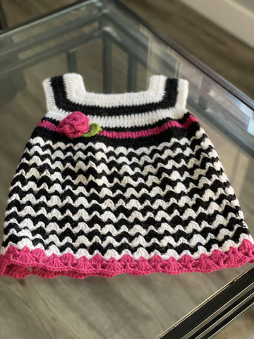 Baby girl sweater dress 6 months