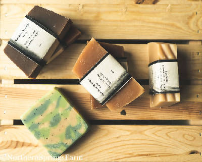 Summer Scents Collection Goat Milk Soaps