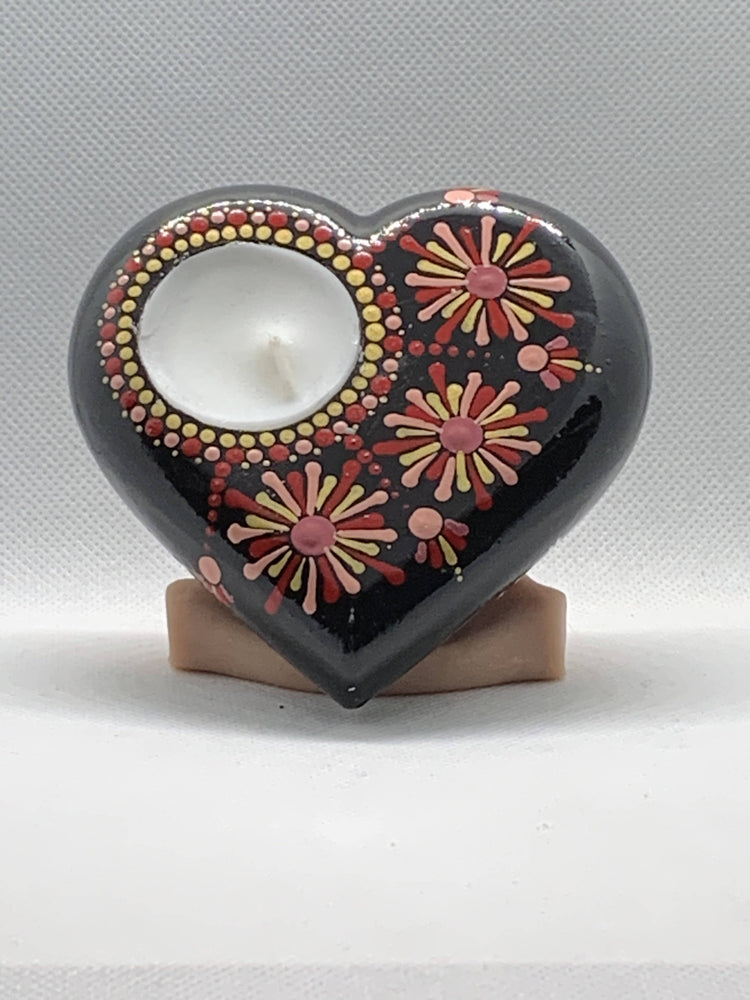 fireworks tea light