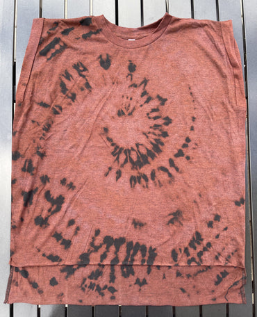 Ladies Reverse Tie Dye T-Shirt