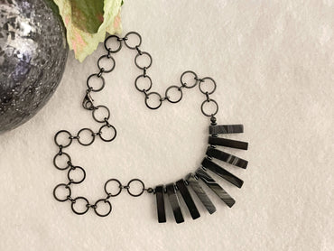 """Strength, Focus & Grounding"" Collar Necklace"
