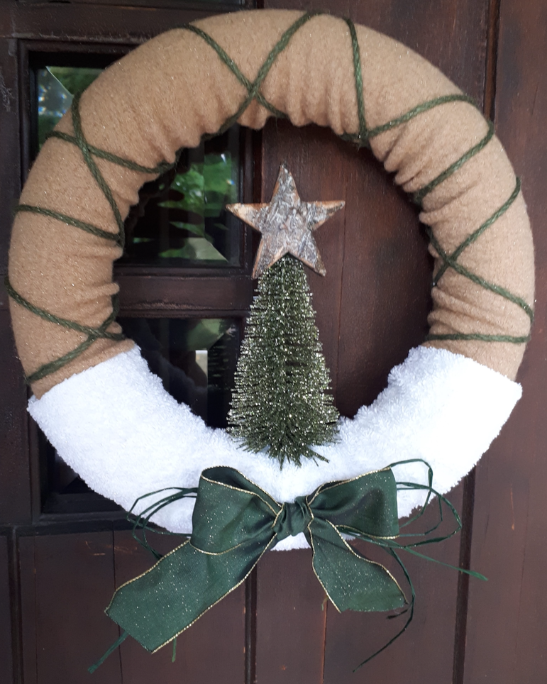 "12"" Tranquil Green Wreath"