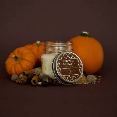 Pumpkin Crumble Candle - 7.5 oz