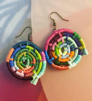 Hue Breakthrough - Lightweight Handmade Earrings