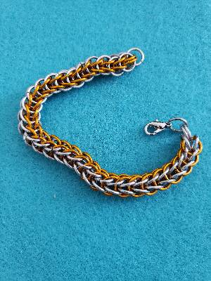 Orange full Persian bracelet