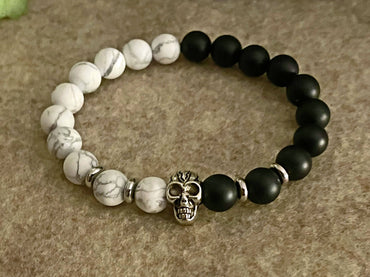 """Protection, Inner Peace & Self Worth"" Stretch Bracelet"