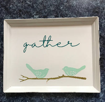 Gather tray