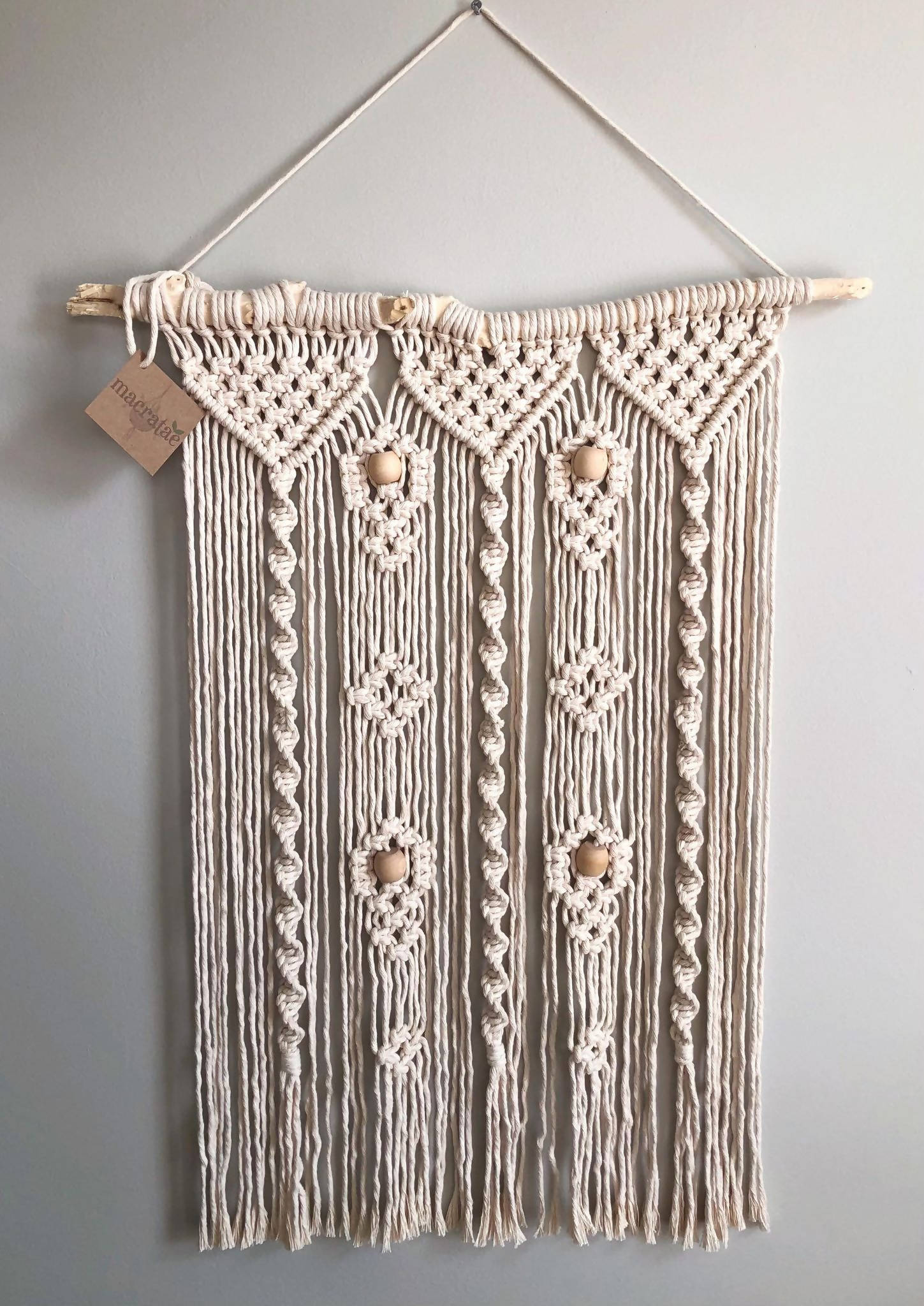 Fig Macrame Wall Hanging