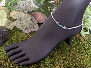 """Intellect, Clarity & Motivation"" Anklet Bracelet"