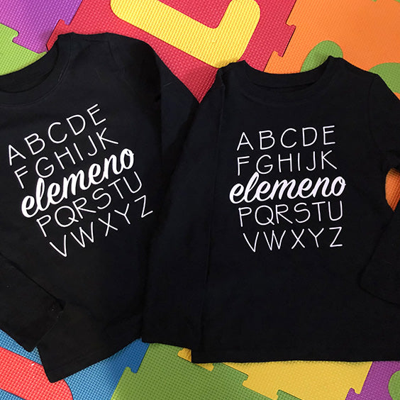 Custom Toddler Long Sleeve Shirt