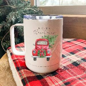 Red Truck Coffee Tumbler