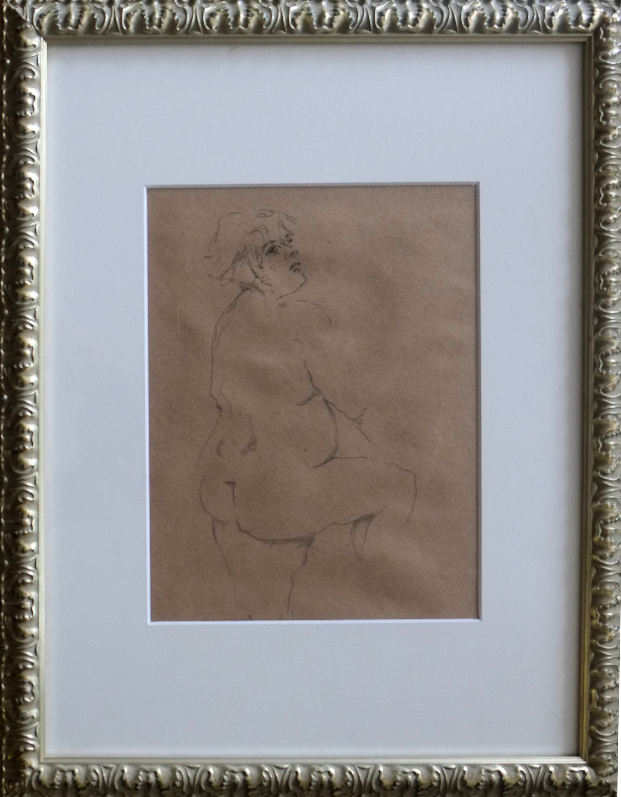 9 x 12 Original Ink Drawing, framed or unframed