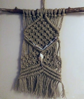 Sm macrame wall hangings