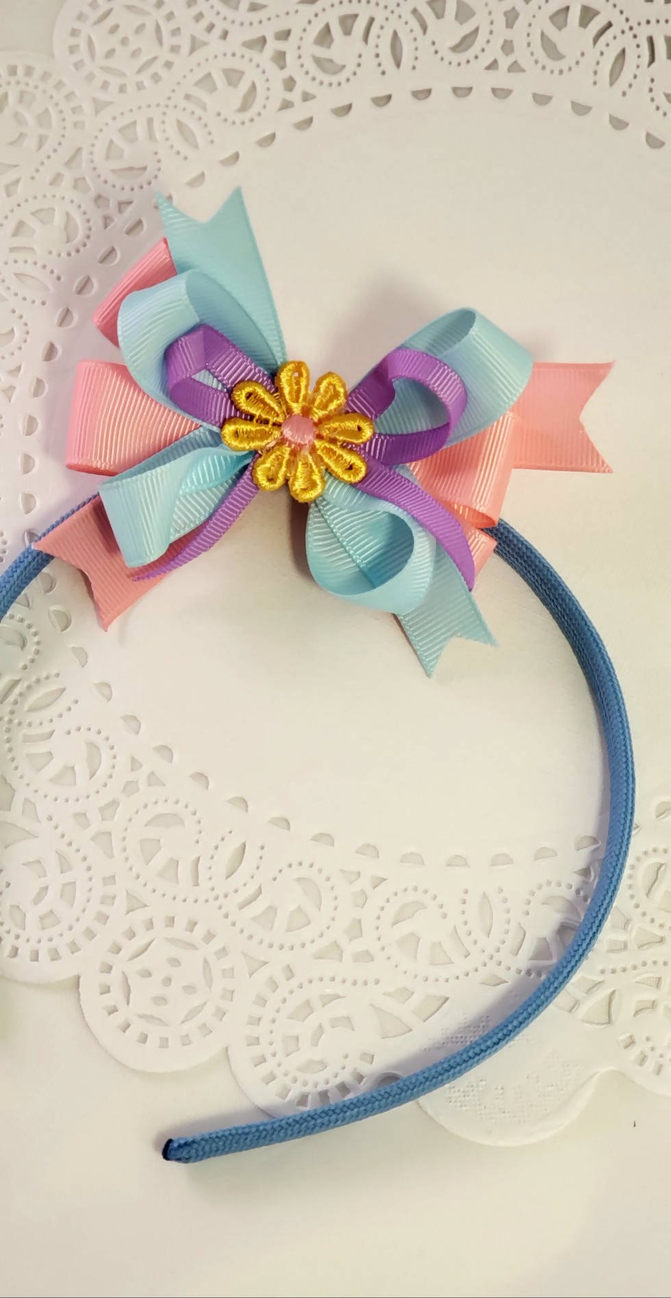 Spring Flower Baby and Kids Bows