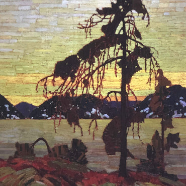 Tom Thomson, group of seven, The Jack Pine. Canadian artist. Canvas print