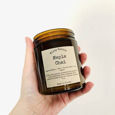 Maple Chai Handcrafted Soy Candle