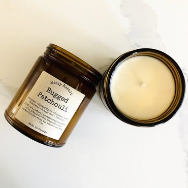 Rugged Patchouli Handcrafted Soy Candle