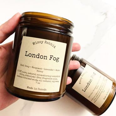 London Fog Handcrafted Soy Candle