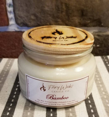 Bamboo Scented Soy Wax Candle