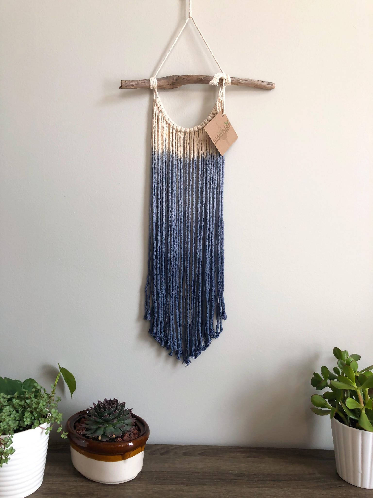 Silverbell Macrame Wall Hanging