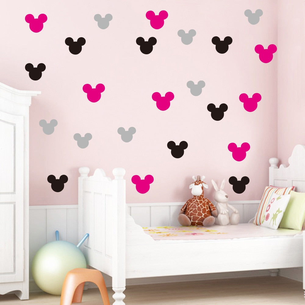 Mickey/Minnie Mouse Wall Decals
