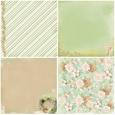 Soft Green Scrapbooking Pad